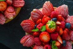 Da fruto la tarta Foto de archivo