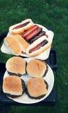 Da grade alimento para fora para o cozinheiro para fora Imagem de Stock Royalty Free