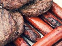 Da grade alimento para fora para o cozinheiro para fora Fotografia de Stock Royalty Free