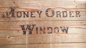 ` da janela do ordem de pagamento do ` imagem de stock