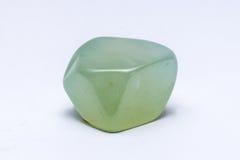 Da joia ciana da gema de pedra preciosa de turquesa brilhante precioso mineral Imagens de Stock