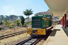 DA Lat, Βιετνάμ, 20 Ιανουαρίου, 2015 Κανένας, αναδρομικές μεταφορές σιδηροδρόμων στη DA lat, Βιετνάμ Στοκ Φωτογραφία