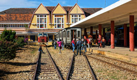 Da lat ancient station in Viet nam Stock Photos