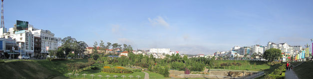Da Lat City- Viet Nam Royalty Free Stock Image