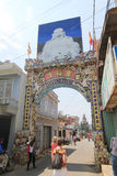 Da-Lat Linh Phuoc Pagoda Royaltyfria Bilder