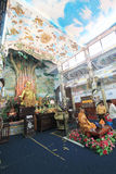 Da-Lat Linh Phuoc Pagoda Royaltyfri Foto
