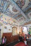 Da-Lat Linh Phuoc Pagoda Royaltyfri Fotografi
