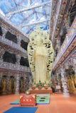 Da-Lat Linh Phuoc Pagoda Royaltyfri Bild