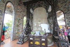 Da-Lat Linh Phuoc Pagoda Royaltyfria Foton