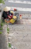Da Lat rynek, Wietnam Zdjęcie Stock