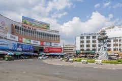 Da-Latmarknad, Da-Lat, Vietnam Royaltyfri Foto