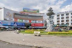 Da-Latmarknad, Da-Lat, Vietnam Arkivbilder