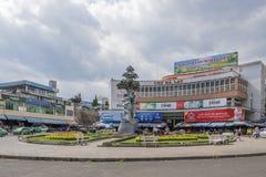 Da-Latmarknad, Da-Lat, Vietnam Royaltyfri Fotografi