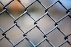 Da ligação Chain da cerca fim acima fotografia de stock royalty free