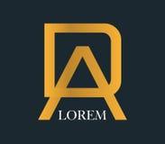 DA Logo Concept Design Royalty Free Stock Photography