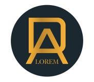 DA Logo Concept Design Stock Photo