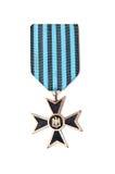 2da medalla de la guerra mundial Foto de archivo libre de regalías
