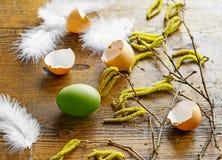 Da mola de easter vida ainda com ovos Fotografia de Stock Royalty Free