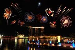 Día nacional de Singapur Fotografía de archivo libre de regalías