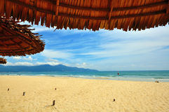 Da Nang beach, Vietnam Stock Photography