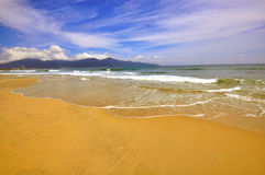 Da Nang beach, Vietnam Royalty Free Stock Images