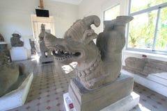 Da Nang Cham-Skulptur-Museum Stockbilder