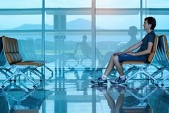 Da Nang-internationaler Flughafen Lizenzfreie Stockfotografie