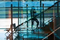 Da Nang-internationaler Flughafen Lizenzfreies Stockbild