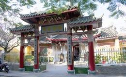 DA NANG-LANDSCHAFT - alte Stadt Hoi An - Tempel lizenzfreies stockbild