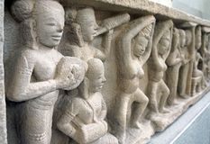 Da Nang Museum of Cham Sculpture stock image