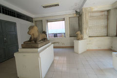 Da Nang-Museum der Cham-Skulptur Stockfotos