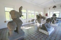 Da Nang muzeum Cham rzeźba Zdjęcia Royalty Free