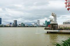 Da Nang Stadt in Vietnam Lizenzfreie Stockfotografie