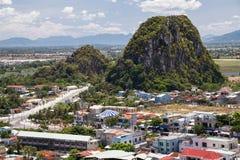 DA NANG, VIETNAM - CIRCA IM AUGUST 2015: Tho-Sohn-Berg, Marmorberge, Vietnam stockfotos