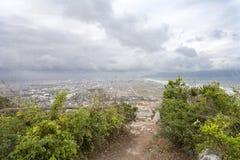 DA NANG, VIETNAM - MAART 18: Marmeren bergen toneelmening dichtbij D Stock Foto's