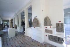 Da Nangmuseum av Chamskulptur Arkivbilder