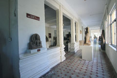 Da Nangmuseum av Chamskulptur Arkivfoto