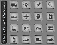 Da navegação ícones simplesmente imagens de stock