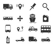 Da navegação ícones simplesmente Imagem de Stock