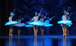 Da neve dos duendes- ato primeiramente do quarto país da neve do campo - a quebra-nozes do bailado fotos de stock royalty free