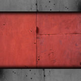 Da oxidação marrom do metal do fundo da textura velho oxidado Imagens de Stock Royalty Free