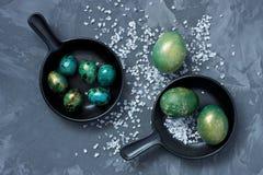 Da Páscoa vida ainda com ovos do colorfull Imagem de Stock Royalty Free