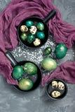 Da Páscoa vida ainda com ovos do colorfull Foto de Stock Royalty Free