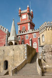 da pałac palacio pena Portugal Zdjęcia Stock