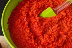 Da paprika vida vermelha caseiro ainda Imagem de Stock