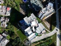 da parte superior de uma construção a vista é melhor fotografia de stock royalty free