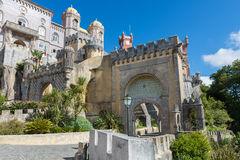 Da Pena Palace in Sintra Royalty Free Stock Images