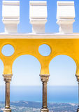Da Pena palace views Royalty Free Stock Image