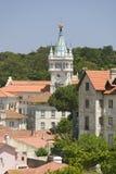Da Pena Royal Palace, cioen da Pena för Palï ¿ ½ eller Castelo da Pena, som den är mer gemensam bekant, är det färdigaste och mes Royaltyfri Fotografi