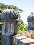 Da Pena Watch Towers. Watch towers in Da Pena palace, Sintra, Portugal royalty free stock images